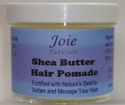 Shea Butter Hair Pomade 4 oz size